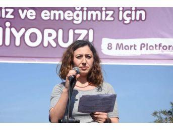 8 Mart Kadın Platformu'ndan 'hayır' Çağrısı
