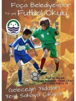 Foça Belediyespor Futbol Okulunda Yeni Dönem