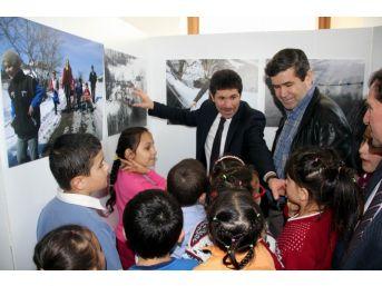 Samsun'da Minik Öğrencilerden Büyüleyen Fotoğraf Sergisi
