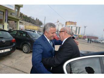 Başkan Albayrak Motorlu Taşıyıcılar Kooperatifini Ziyaret Etti