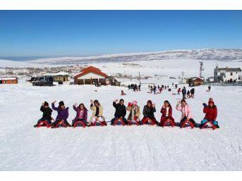 Ercişli Öğrenciler Kayak Sporuyla Tanıştı