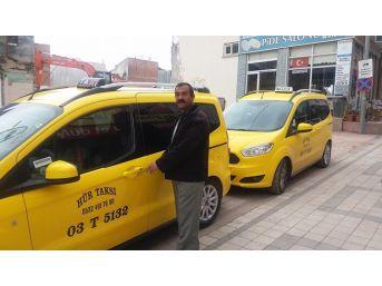 Sandıklı'da Ticari Taksiler Ötv İndiriminden Sonra Yenilendi