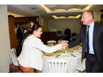 Başkan Mehmet Keleş, Kadınları Ağırladı