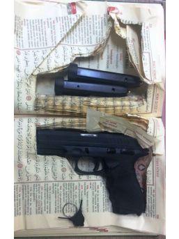 Kuşadası'nda Kur'an-ı Kerim İçerisinde Saklanmış Silah Bulundu