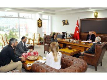 Özel Olimpiyatlar Türkiye Heyetinden Adü'ye Ziyaret