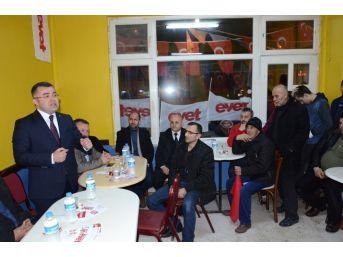 """Keskin, """"ümmetin Tek Kalesi Türkiye'dir"""""""