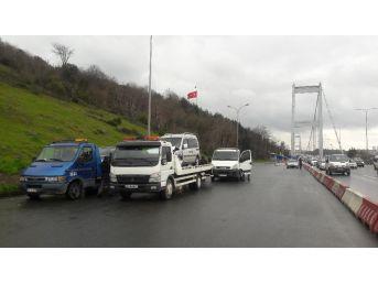 Fatih Sultan Mehmet Köprüsü'nde Zincirleme Trafik Kazası: 1 Yaralı