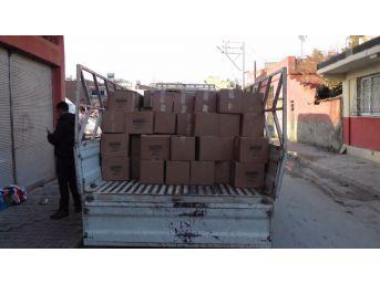 Adana'da Sahte Şampuan Ve Deterjan Operasyonu