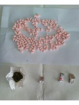 Amasya'da Uyuşturucu Operasyonu: 6 Gözaltı