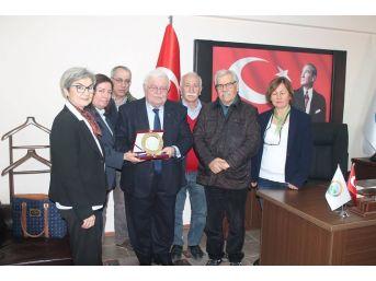 Burçep'ten Belediyeler Birliğine Ziyaret