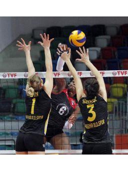 Samsun Belediye Anakent-Alaşehir Belediyespor: 3-0
