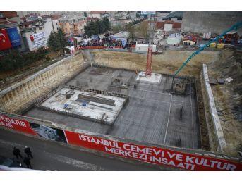 Küçükçekmece'de Cemevi Ve Kültür Merkezinin Temeli Atıldı