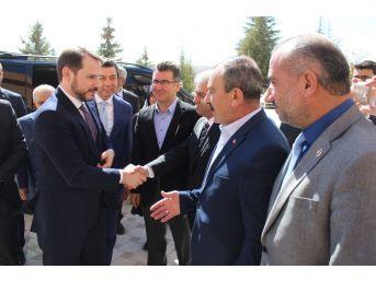 """Enerji Ve Tabii Kaynaklar Bakanı Albayrak: """"16 Nisan Dönüm Noktası"""