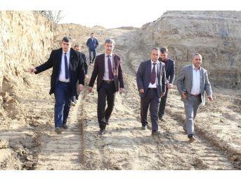 Urganlı'nın Yeni Köprüsü Yükseliyor