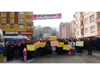 Rize'de Düşük Kamulaştırma Bedeli Protestosu