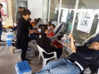 Birecik Myo'dan Kan Bağışı Kampanyası