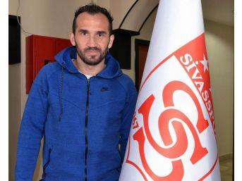Sivasspor'da Theofanis Gekas Sezonu Kapattı