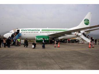 Zonguldak Havalimanı'nda Yurtdışı Seferler Başladı