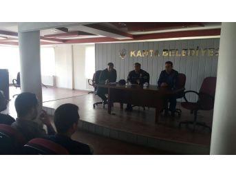 İnternet Kafe İşletmecileri İle Bilgilendirme Toplantısı Yapıldı