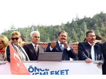 Bakan Eroğlu Nallıhan'da Konuştu