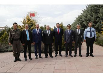 Başkan Duruay'dan Türksat'a Ziyaret