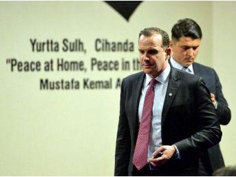 Dışişleri Bakanı Çavuşoğlu, Abd'li Mevkidaşı Tillerson Ile Görüştü (2)