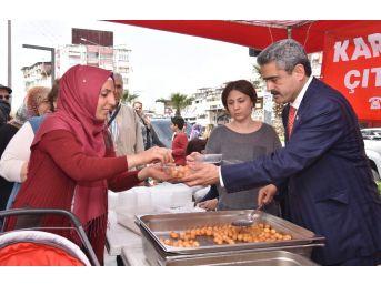 Nazilli'de Regaip Kandili Dolayısıyla Lokma Hayrı Yapıldı