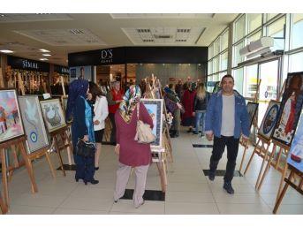 Edremit'te Kırkyama Sergisi Açıldı