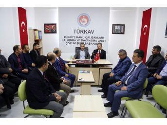 Bostancı'dan Türkav'a Ziyaret