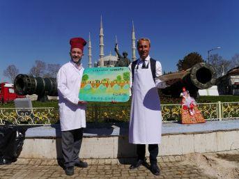 Başbakan Yıldırım Ve Eşine Edirne'den Hediyeler