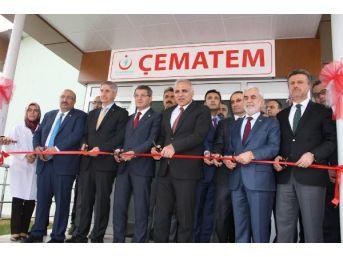Elazığ'da, Türkiye'nin 5'inci Çematem'i Açıldı