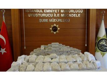 5 Milyon Euro'luk Eroin Operasyonu