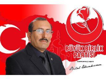 Kahramanmaraş'ta Bbp İl Başkanlığı'na Odunkıran Atandı