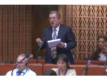 Başkan Vergili Strasbourg´da Avrupa Yerel Yönetimler Meclisine Katıldı