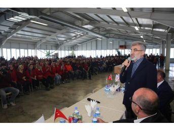 Ak Parti Miletvekili Taner Yıldız Osb İşçilerinden 'evet' Sözü Aldı