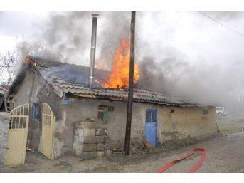 Seydişehir'de Korkutan Yangın
