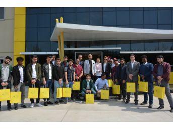 Yabancı Öğrenciler Turgutlu'da İnceleme Gezisi Yaptı