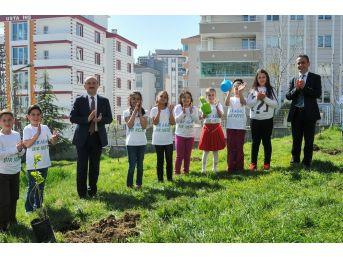 İlkadım'da Çocuklara Ağaç Sevgisi Aşılandı