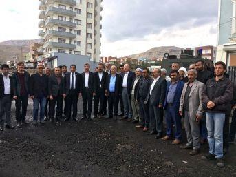 Ceylanpınar Belediye Başkanı Atilla'nın, Derik Ziyaretleri