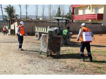 Cizre Belediyesi İlçe Genelinde İlaçlama Çalışması Başlattı