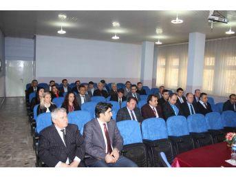 Milli Eğitim Müdürü Ulusan, Malkara'da Müdürlerle Buluştu