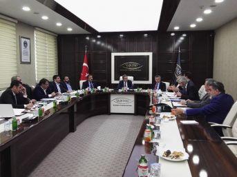 Van Ekonomi Konseyi Toplandı