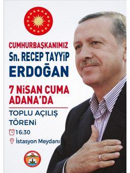 Cumhurbaşkanı Erdoğan'ın Geleceği Gün Toplu Taşıma Ücretsiz