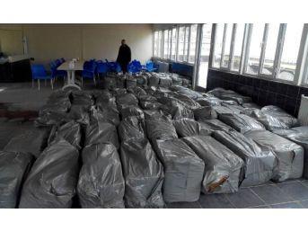 Adıyaman'da 800 Kilo Kaçak Tütün Ele Geçti