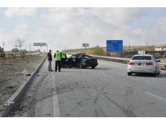 Afyonkarahisar'da Trafik Kazası, Biri Ağır 2 Yaralı