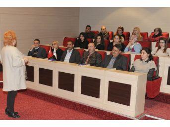 """Altındağ Belediyesinden Personeline """"etkili İletişim Ve Beden Dili"""" Semineri"""