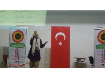 Arapça Etkinlik İl Yarışmaları Yapıldı