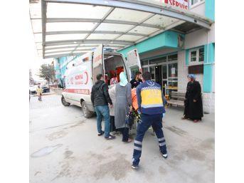 Beyşehir'de Balkondan Düşen Kadın Yaralandı