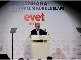"""Başbakan Yıldırım: """"o Alçaklar, Bu Ülkenin Vatandaşına Ateş Açarken Kılıçdaroğlu'na Yol Açtılar, Yol"""""""