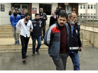 Gaziantep'te Kapkaç Ve Dolandırıcılık Şüphelileri Adliyede